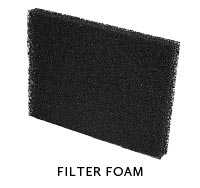 Aquarium Mechanical Filtration - Filter Foam
