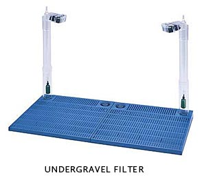 Undergravel filters aquarium filter guide for How to set up a fish tank filter